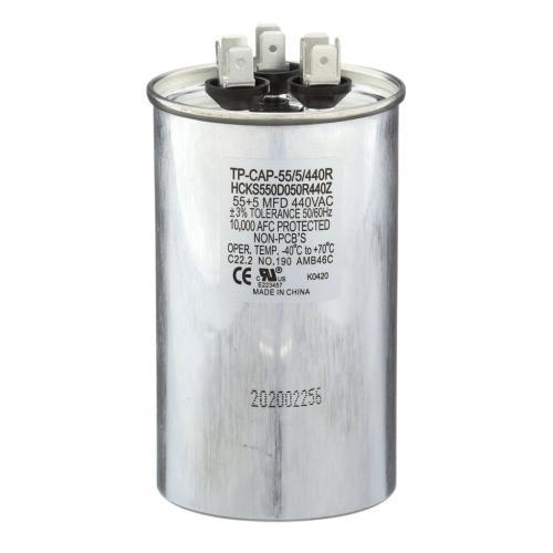 TP-CAP-55/5/440R 55+5 Mfd 440 Volt Round Run Capacitor