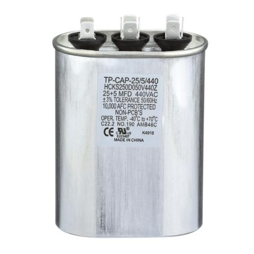 TP-CAP-25/5/440 25+5 Mfd 440 Volt Oval Run Capacitor