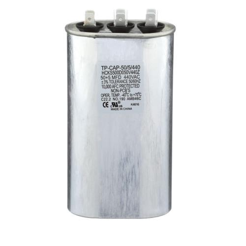 TP-CAP-50/5/440 50+5 Mfd 440 Volt Oval Run Capacitor