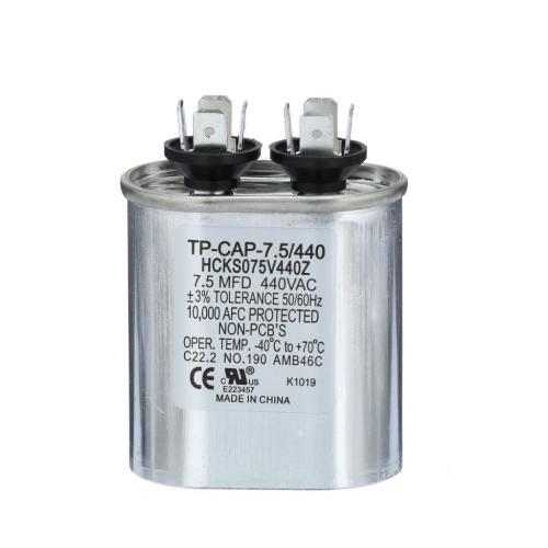 TP-CAP-7.5/440 7.5 Mfd 440 Volt Oval Run Capacitor