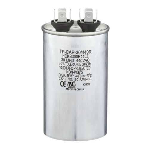 TP-CAP-30/440R 30 Mfd 440 Volt Round Run Capacitor