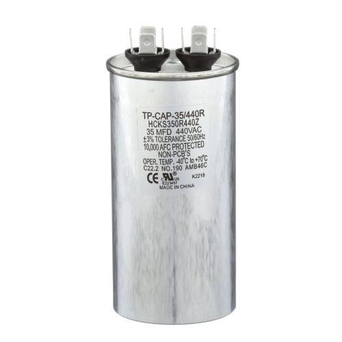 TP-CAP-35/440R 35 Mfd 440 Volt Round Run Capacitor