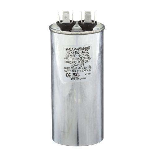 TP-CAP-45/440R 45 Mfd 440 Volt Round Run Capacitor