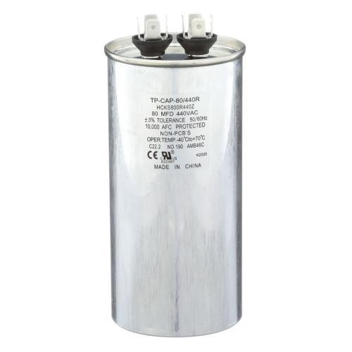TP-CAP-80/440R 80 Mfd 440 Volt Round Run Capacitor