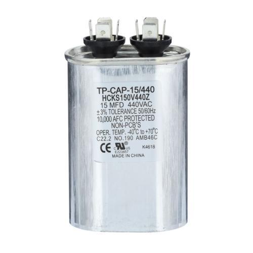 TP-CAP-15/440 15 Mfd 440 Volt Oval Run Capacitor
