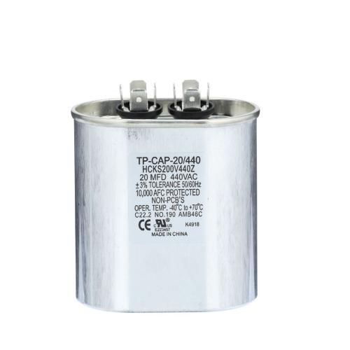 TP-CAP-20/440 20 Mfd 440 Volt Oval Run Capacitor