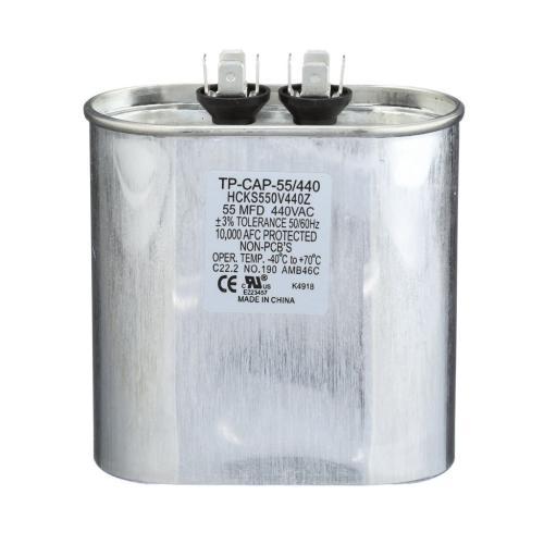 TP-CAP-55/440 55 Mfd 440 Volt Oval Run Capacitor