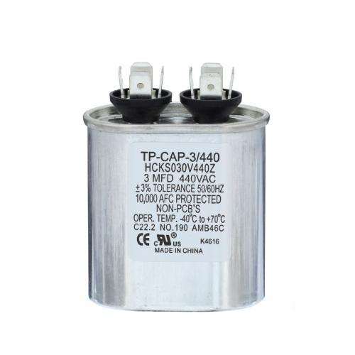 TP-CAP-3/440 3 Mfd 440 Volt Oval Run Capacitor