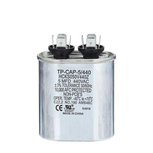 TP-CAP-5/440 5 Mfd 440 Volt Oval Run Capacitor