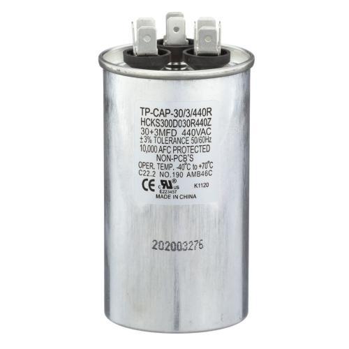 TP-CAP-30/3/440R 30+3 Mfd 440V Round Run Capacitor