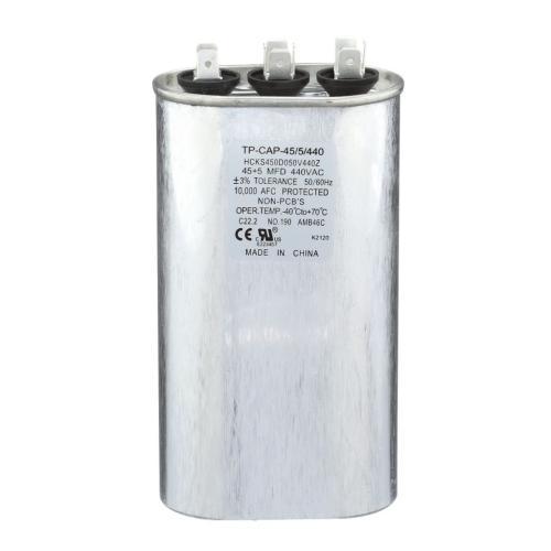TP-CAP-45/5/440 Capacitors Oval Dual