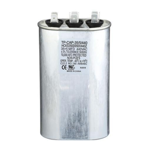 TP-CAP-35/5/440 Capacitors Oval Dual