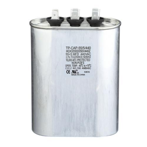 TP-CAP-55/5/440 Capacitors Oval Dual