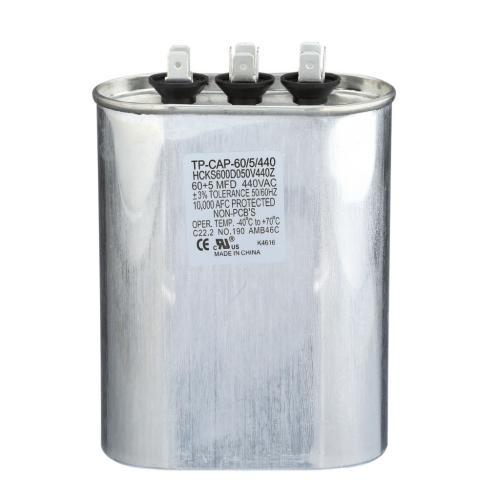 TP-CAP-60/5/440 Capacitors Oval Dual