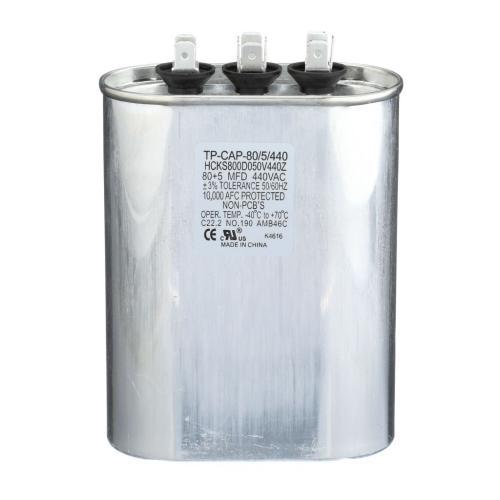 TP-CAP-80/5/440 Capacitors Oval Dual