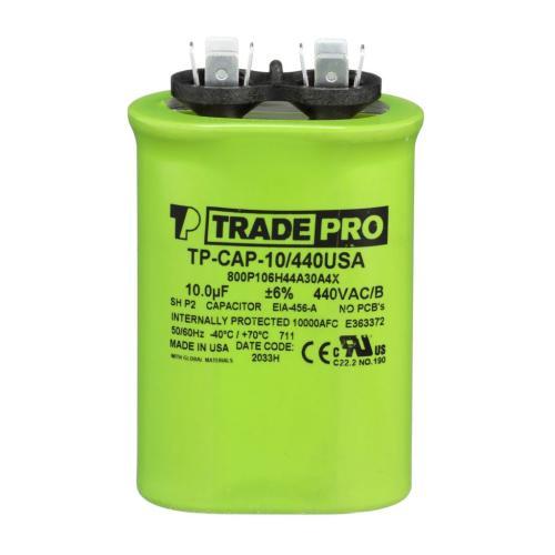 TP-CAP-10/440USA Capacitors Oval Us