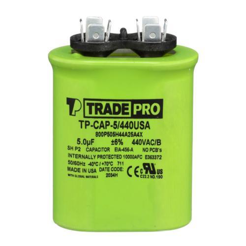 TP-CAP-5/440USA Capacitors Oval Us