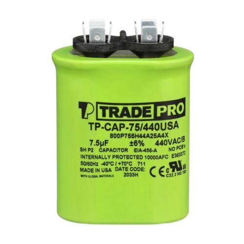 TP-CAP-75/440USA Capacitors Oval Us