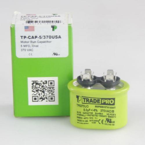 TP-CAP-5/370USA Capacitors Oval Us
