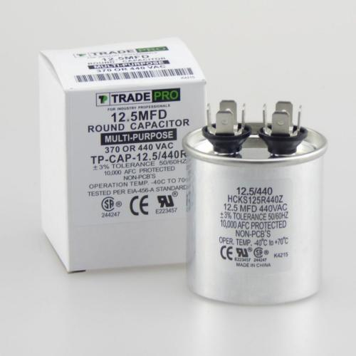 TP-CAP-12.5/440R Capacitors Round