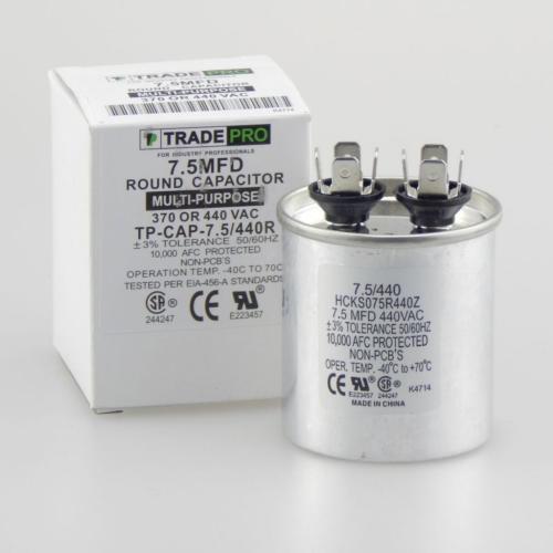 TP-CAP-7.5/440R Capacitors Round