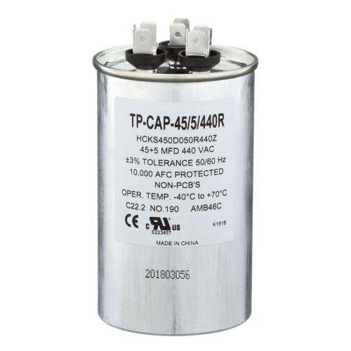 TP-CAP-45/5/440R Capacitors Round Dual