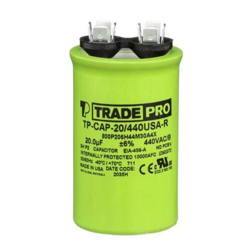 TP-CAP-20/440USAR Capacitors Round Us