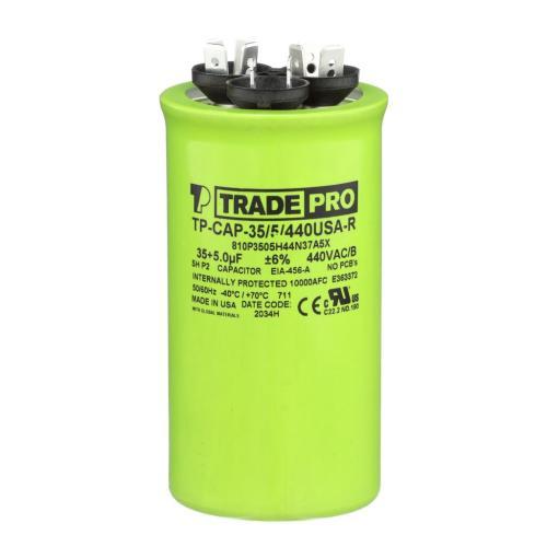 TP-CAP-35/5/440USAR Capacitors Round Us Dual