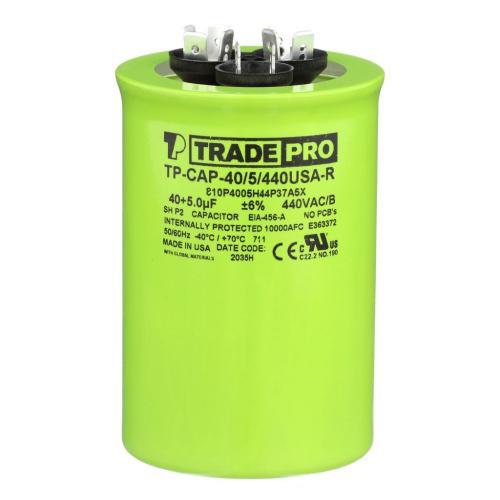 TP-CAP-40/5/440USAR Capacitors Round Us Dual