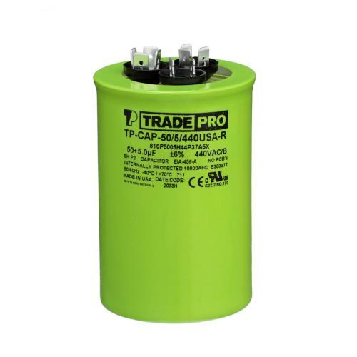 TP-CAP-50/5/440USAR Capacitors Round Us Dual