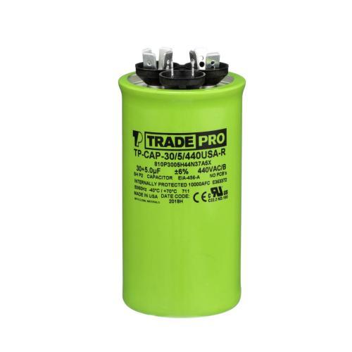 TP-CAP-30/5/440USAR Capacitors Round Us Dual
