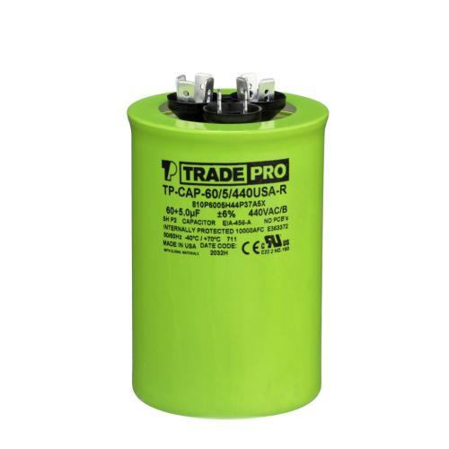TP-CAP-60/5/440USAR Capacitors Round Us Dual