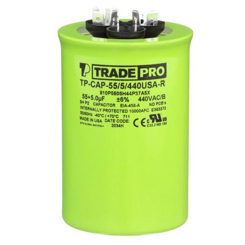 TP-CAP-55/5/440USAR Capacitors Round Us Dual