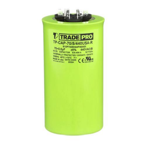TP-CAP-70/5/440USAR Capacitors Round Us Dual