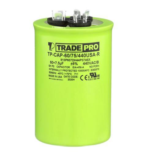 TP-CAP-60/75/440USAR Capacitors Round Us Dual