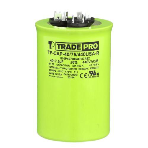 TP-CAP-40/75/440USAR Capacitors Round Us Dual