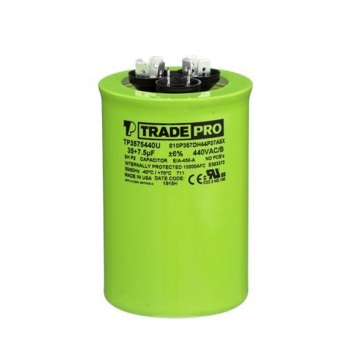 TP-CAP-35/75/440USAR Capacitors Round Us Dual
