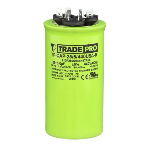 TP-CAP-25/5/440USAR Capacitors Round Us Dual