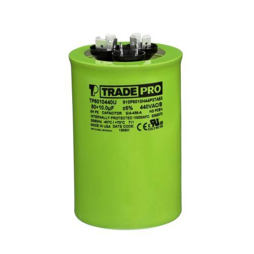 TP-CAP-60/10/440USAR Capacitors Round Us Dual