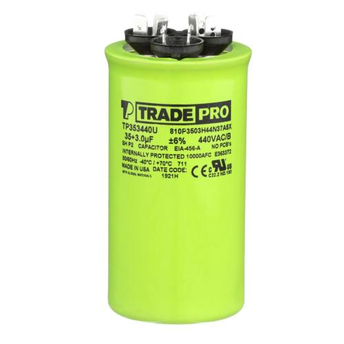 TP-CAP-35/3/440USAR Capacitors Round Us Dual
