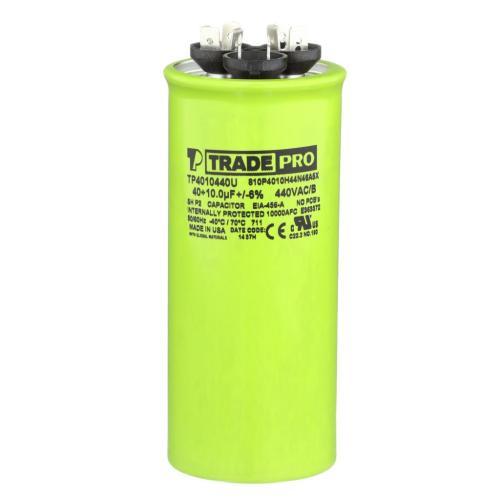 TP-CAP-40/10/440USAR Capacitors Round Us Dual