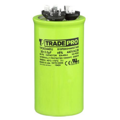 TP-CAP-30/3/440USAR Capacitors Round Us Dual