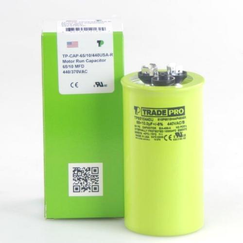 TP-CAP-65/10/440USAR Capacitors Round Us Dual