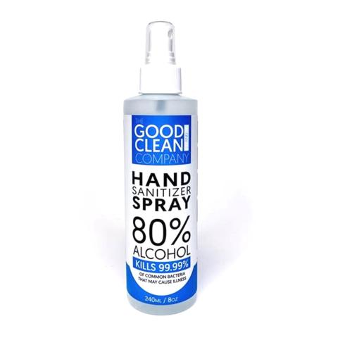 GCSPR-008 8 Oz Spray Hand Sanitize Spray