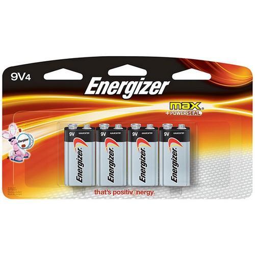 522BP4HEN (4/Pk)9v Max Alk Energizer