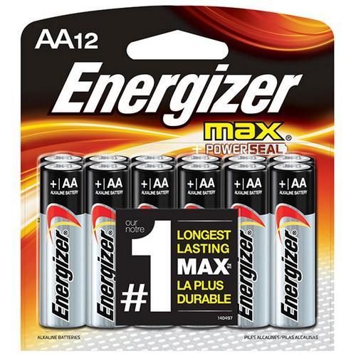 E91BW12EMEN (12/Pk)aa Max Alk EnergizerMain