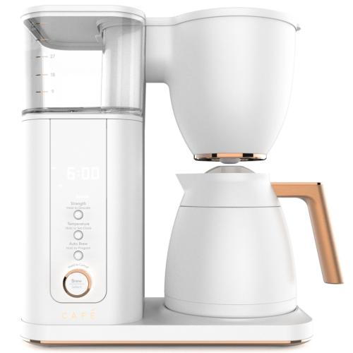 C7CDAAS4PW3-R Cafe Specialty Drip Coffee Maker - Matte White