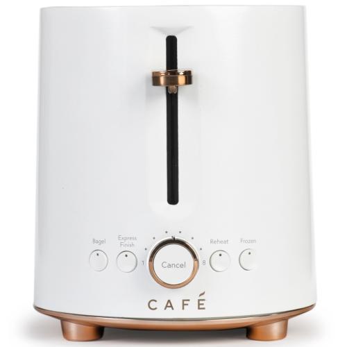 C9TMA2S4PW3-R Cafe Express Finish Toaster - Matte White