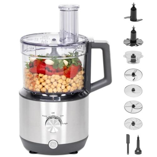 G8P1AASSPSS-R 12-Cup Food Processor With Accessories