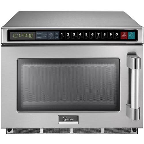 2117G1A 0.6 Cu. Ft. 2100W Push Button Commercial Microwave